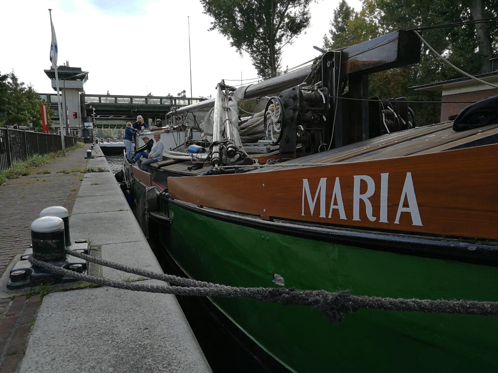 Strontrace met Maria